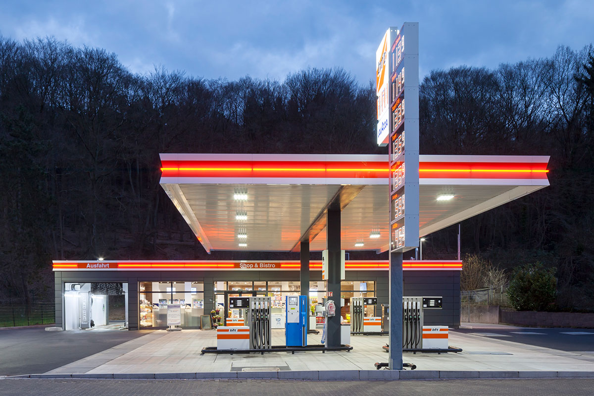 The filling station as a convenience store.